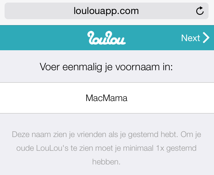 LouLou - 1malig naam