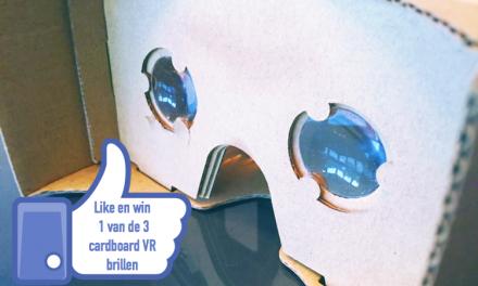 Virtual reality bril…. van karton!