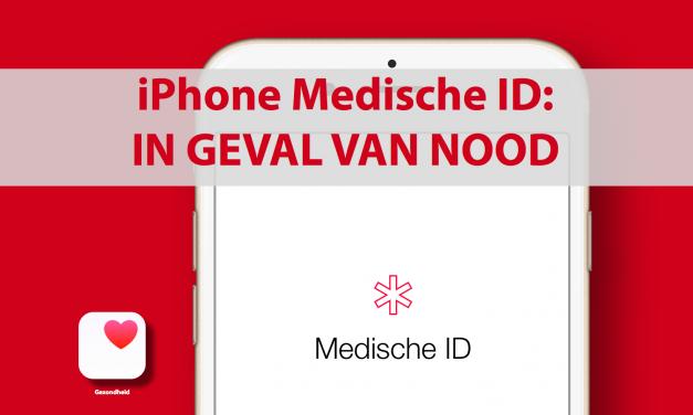 iPhone medische ID: in geval van nood!