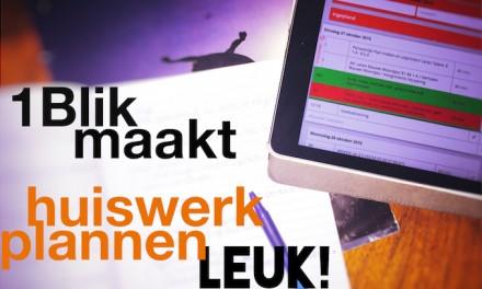 1Blik online agenda maakt huiswerk plannen leuk!