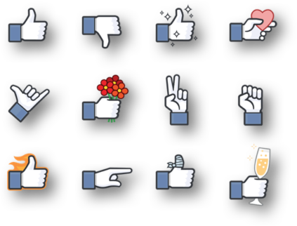 Gratis Facebook Thumbs-ups