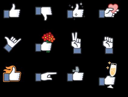 Gratis Facebook Thumbs-ups