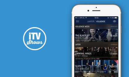 iTV Shows app: makkelijk series bijhouden