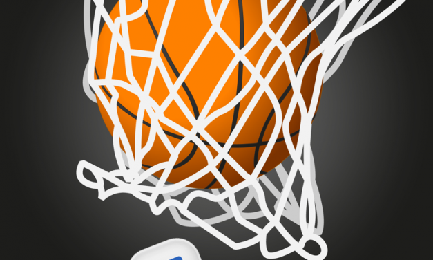 Facebook Messenger basketbal spel